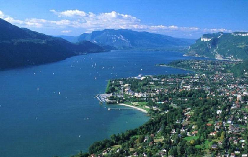Location de vacances - Studio à Aix-les-Bains - Le majestueux Lac du Bourget