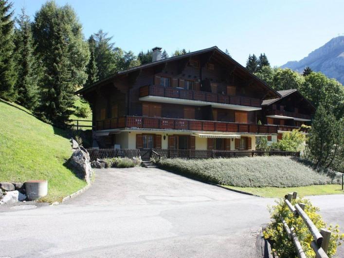 Location de vacances - Appartement à Ormont-Dessus