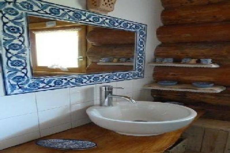 Location de vacances - Chalet à La Bresse - Salle de bains avec douche