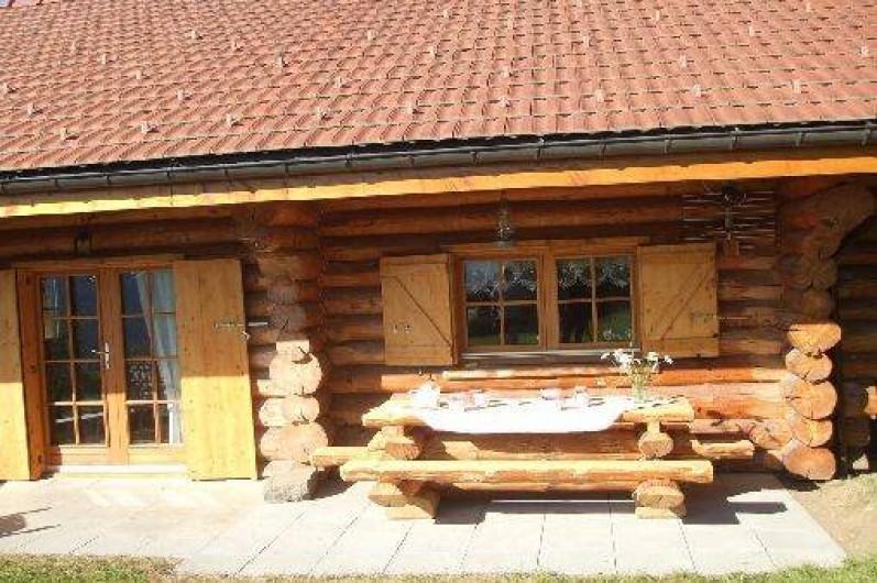 Location de vacances - Chalet à La Bresse - La Terrasse sur le jardin  jardin