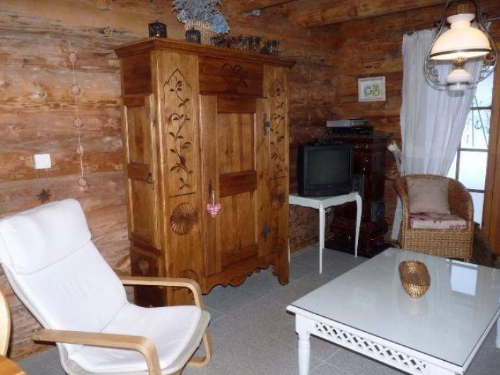 Location de vacances - Chalet à La Bresse - Salon RDC