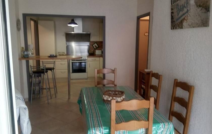 Location de vacances - Appartement à Sanary-sur-Mer - Coin repas