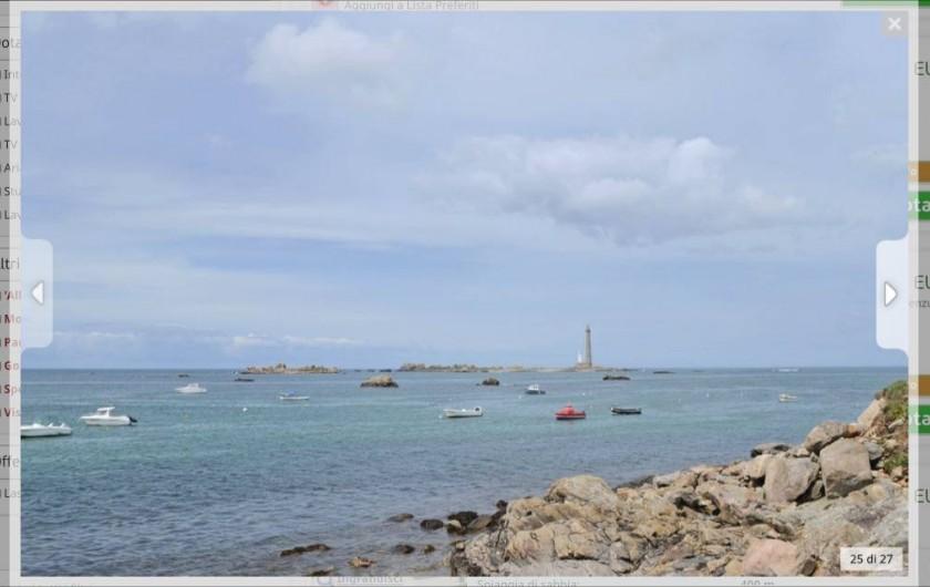 Location de vacances - Villa à Plouguerneau - Le phare de l'Ile Vierge