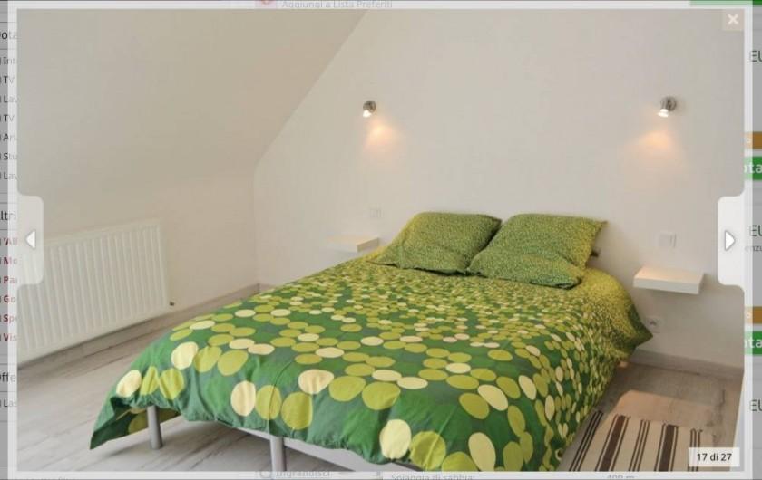 Location de vacances - Villa à Plouguerneau - Chambre étage (lit 140)