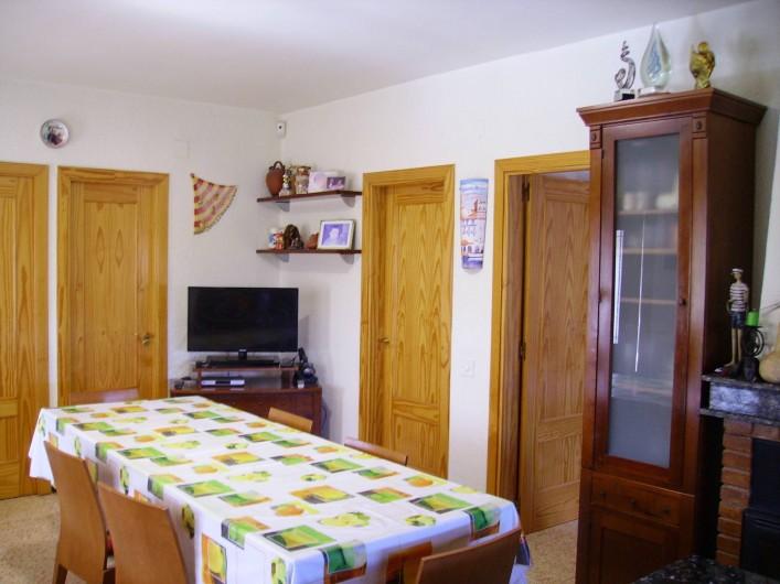 Location de vacances - Villa à L'Ametlla de Mar - Salle a manger