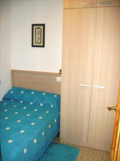 Location de vacances - Villa à L'Ametlla de Mar - Chambre un lit