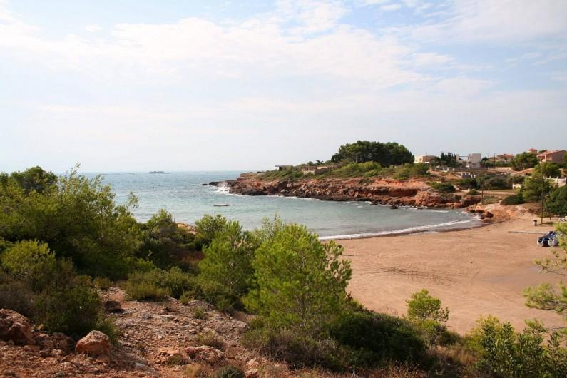 Location de vacances - Villa à L'Ametlla de Mar - Plage a 100 metres
