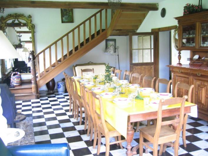 Location de vacances - Villa à Rendeux-Bas - Le grand living.