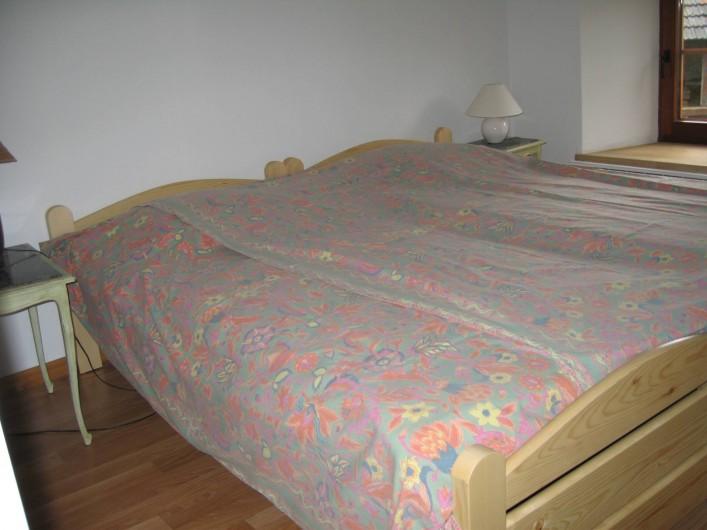Location de vacances - Villa à Rendeux-Bas - Une chambre à coucher.
