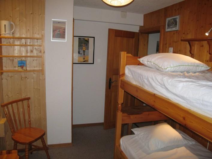 Location de vacances - Appartement à Verbier - Chambre 4