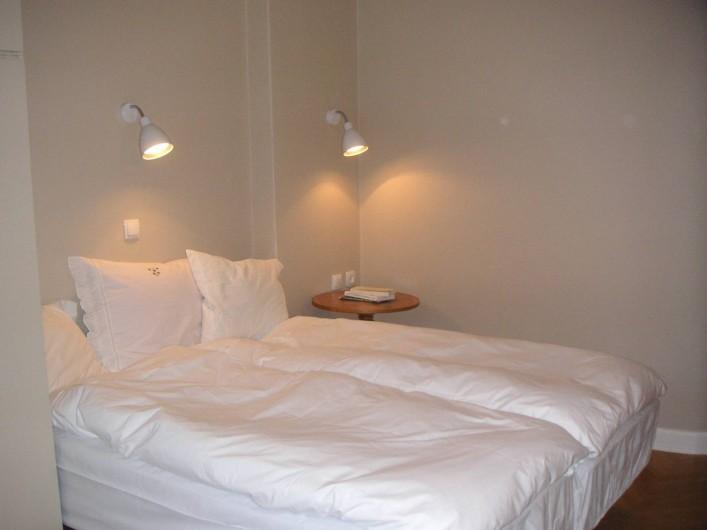 Location de vacances - Appartement à Varsovie - Chambre 1  (lit double ou 2x simples)