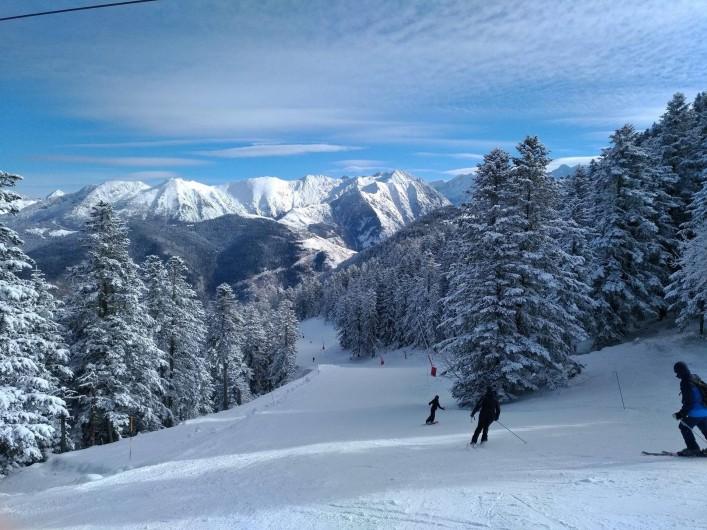 Location de vacances - Appartement à Valmeinier 1800 - skier sur Valmeinier en liberté