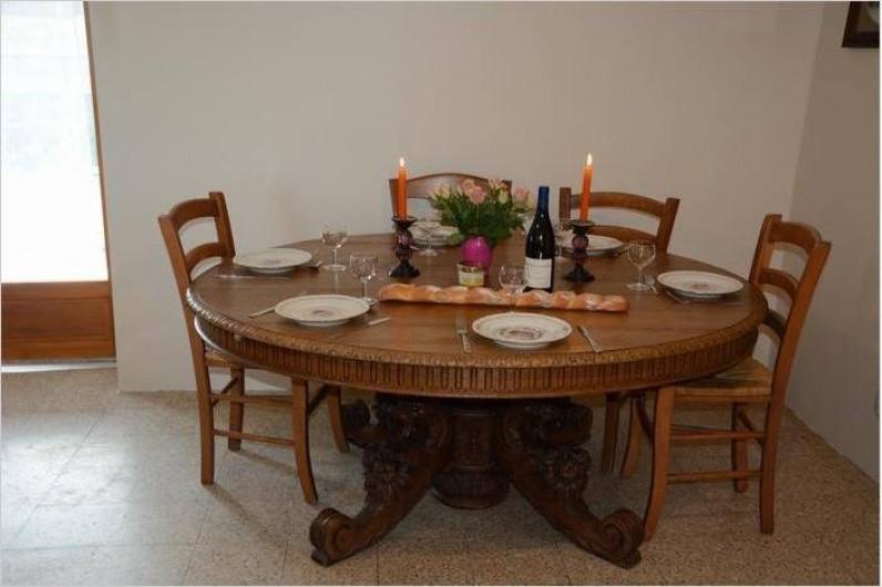 Location de vacances - Maison - Villa à Savigny-Poil-Fol - repas très conviviaux