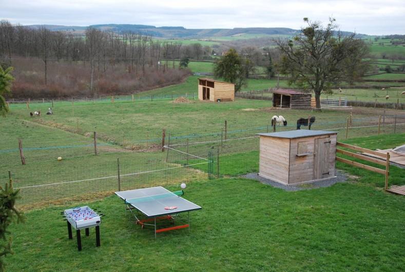 Location de vacances - Maison - Villa à Savigny-Poil-Fol - table ping pong  baby foot