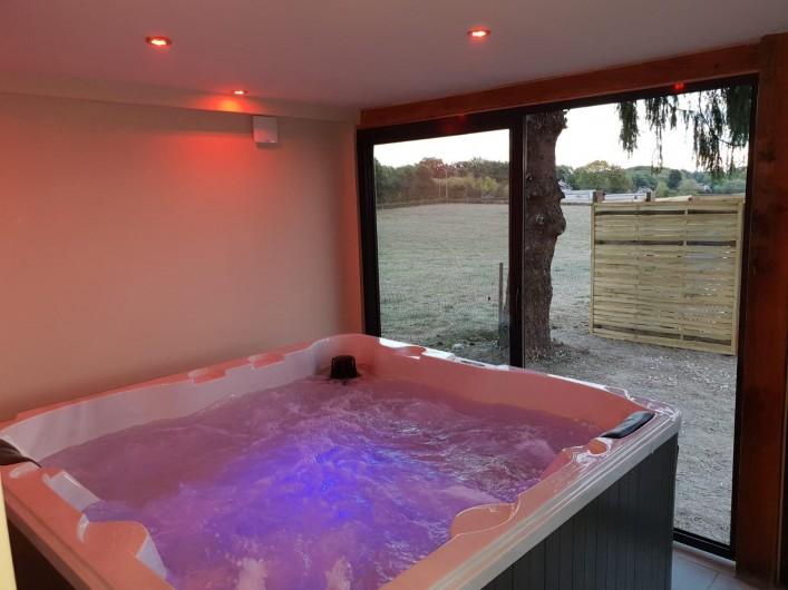 Location de vacances - Maison - Villa à Savigny-Poil-Fol - Jacuzzy