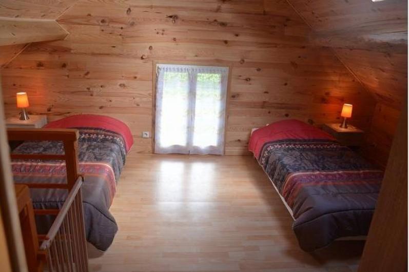 Location de vacances - Maison - Villa à Savigny-Poil-Fol - chambre mezzanine