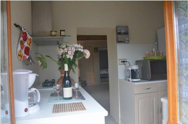 Location de vacances - Maison - Villa à Savigny-Poil-Fol - cuisine toute équipée