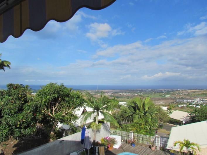 Location de vacances - Villa à Saint-Paul - vue sur l'océan