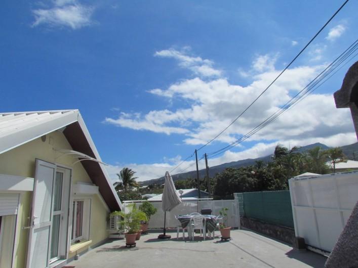 Location de vacances - Villa à Saint-Paul - entrée +terrasse