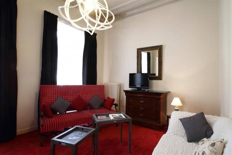 Location de vacances - Hôtel - Auberge à Morlaix - Salon Junior Suite 104