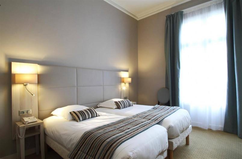 Location de vacances - Hôtel - Auberge à Morlaix - Chambre Confort à deux lits