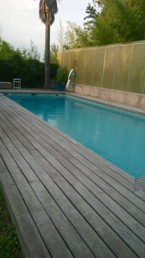 Location de vacances - Studio à Saint-Aygulf - piscine