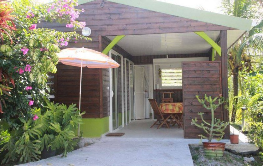 Location de vacances - Bungalow - Mobilhome à Rivière-Salée - Façade principale du bungalow