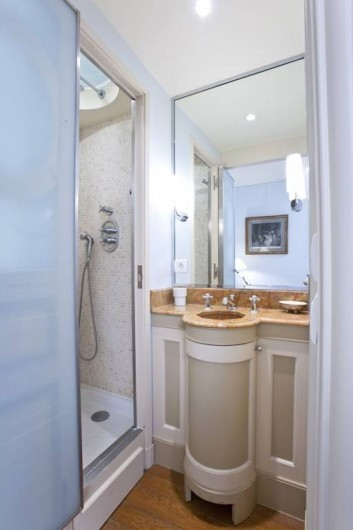 Location de vacances - Appartement à Champs-Élysées - Salle de bain Marie-Antoinette