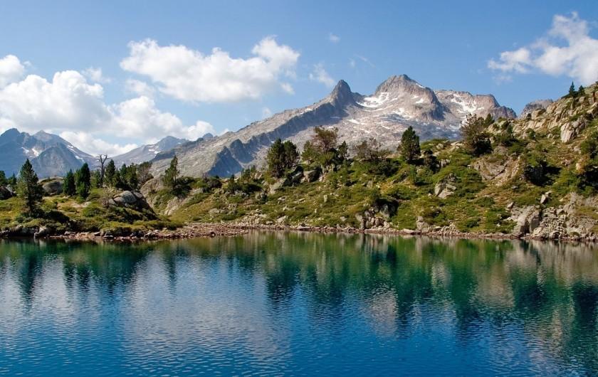 Location de vacances - Chalet à Aragnouet - Pic du Néouvielle et lac d'Aumar
