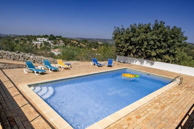 Location de vacances - Villa à Gorjões - Piscine privée
