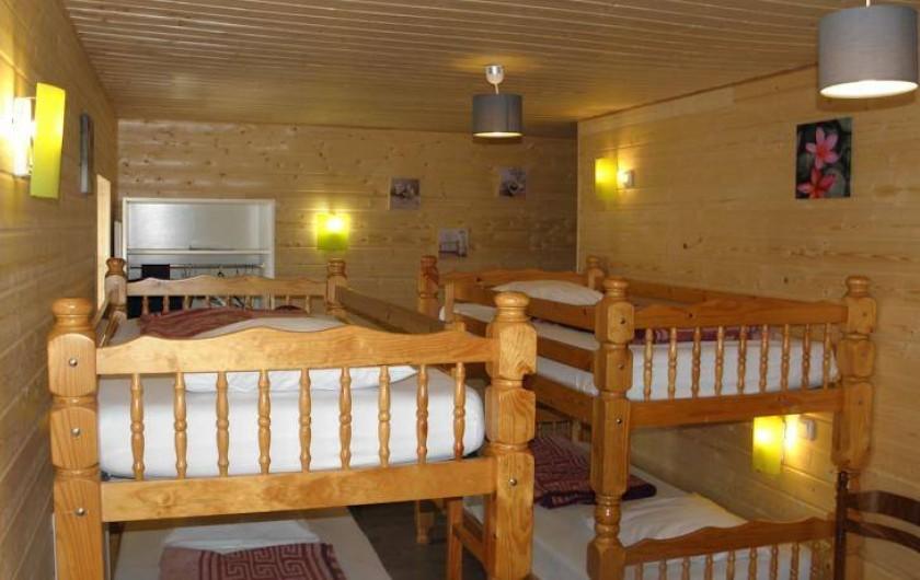 Location de vacances - Gîte à Méolans-Revel - Chambre UBAYE