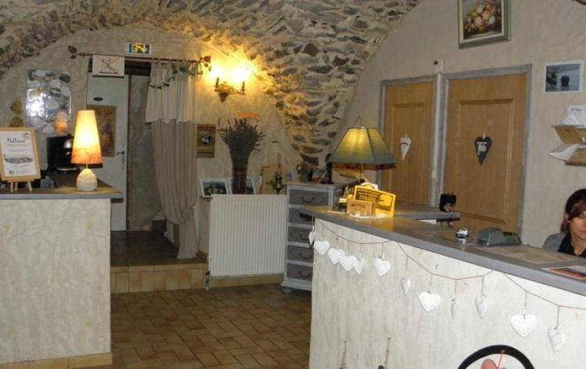 Location de vacances - Gîte à Méolans-Revel - La Réception
