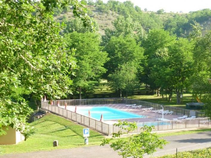 Location de vacances - Camping à Saint-Pompont - PISCINE