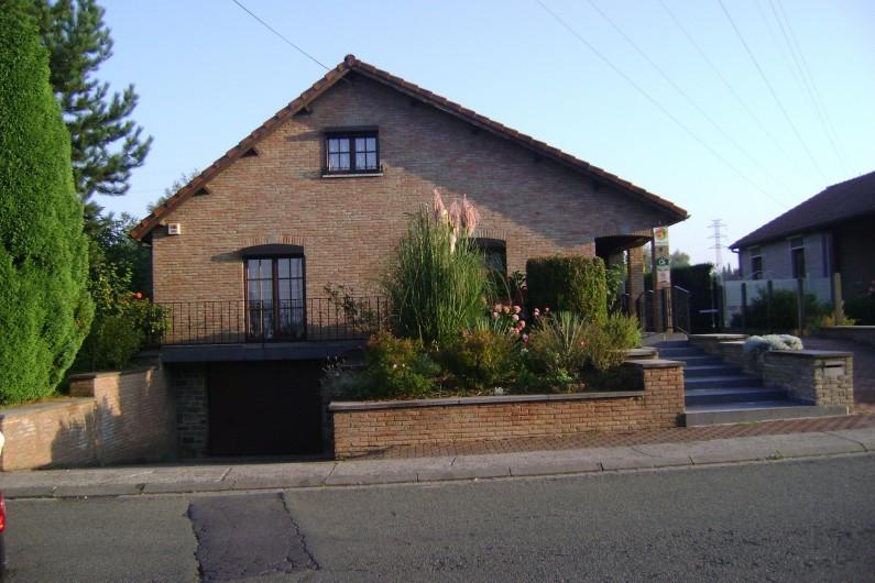 Location de vacances - Chambre d'hôtes à Trivières - VUE DE LA VILLA