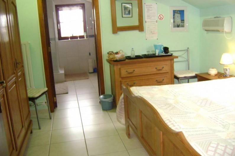 Location de vacances - Chambre d'hôtes à Trivières - AUTRE VUE DE LA CHAMBRE