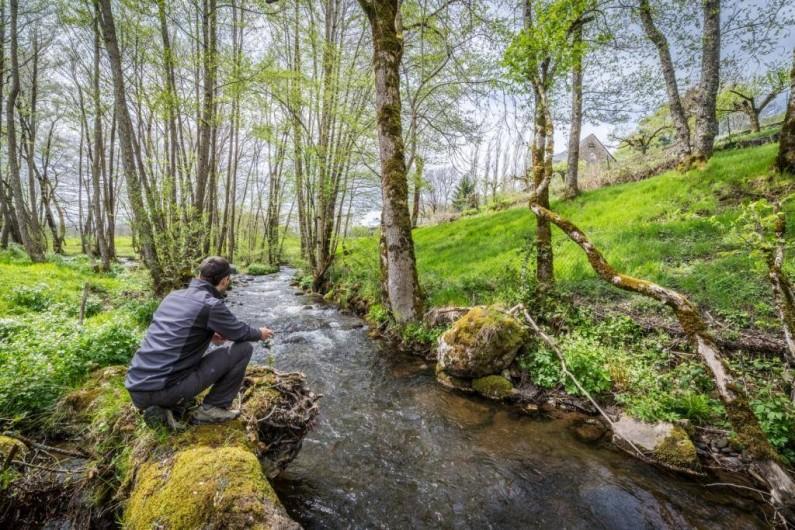 Location de vacances - Gîte à Valette - La pêche sur le site dans la Sumène.