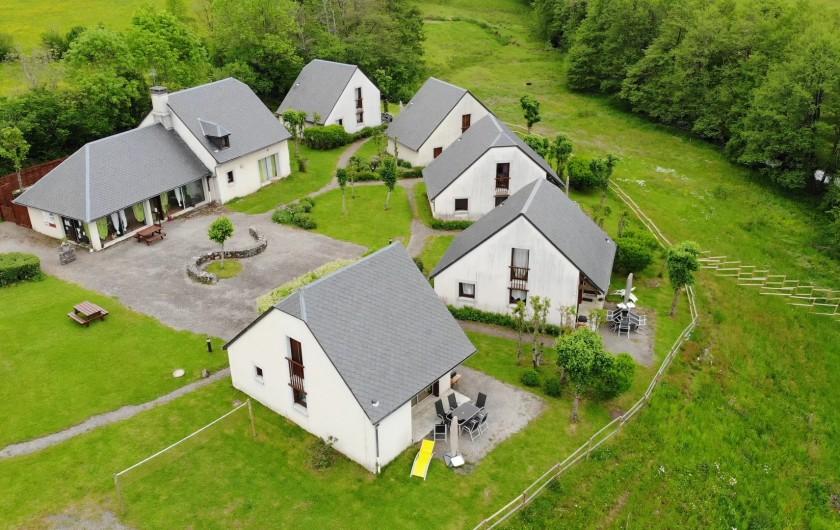 Location de vacances - Gîte à Valette - Vue aerienne du village de gîtes