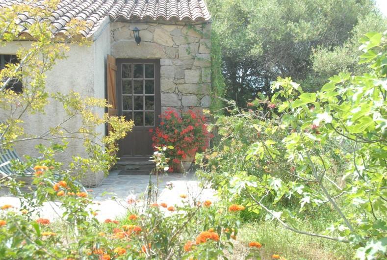 Location de vacances - Chalet à Olmeto - Entrée