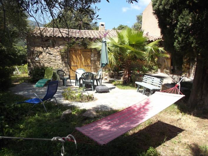 Location de vacances - Chalet à Olmeto - Térasse