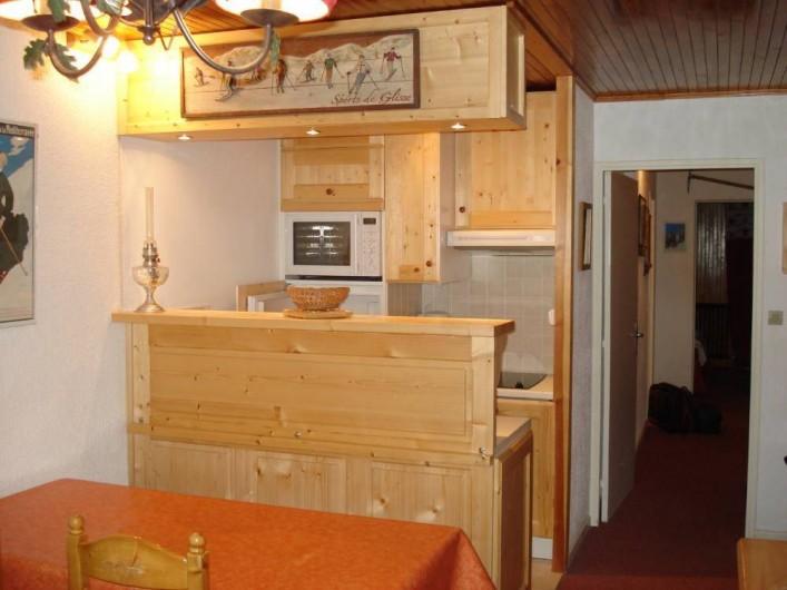 Location de vacances - Appartement à Le Lavachet - Cuisine américaine