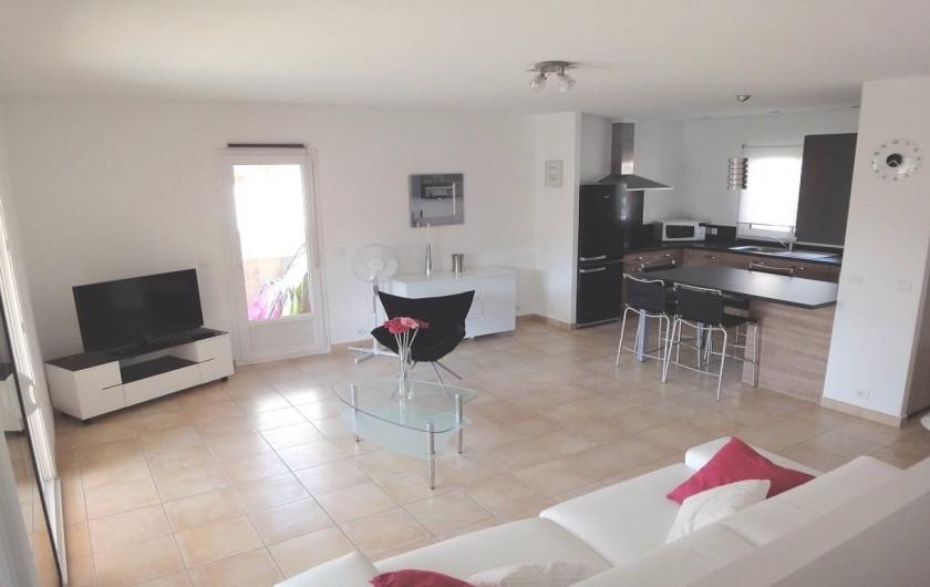 Location de vacances - Villa à Porticcio - SALLE DE SE JOUR