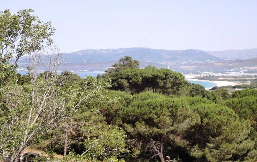 Location de vacances - Villa à Porticcio - VUE PLAGES VIVA ET CAPITELLO