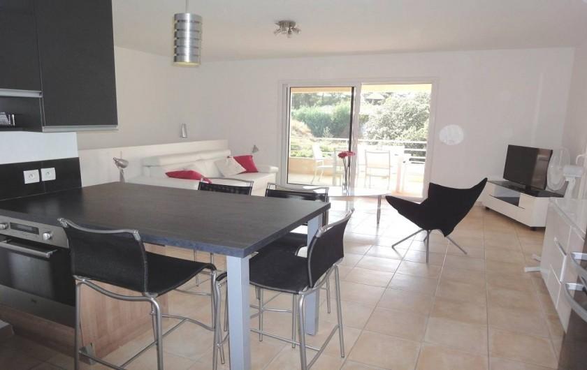Location de vacances - Villa à Porticcio - COTE CUISINE