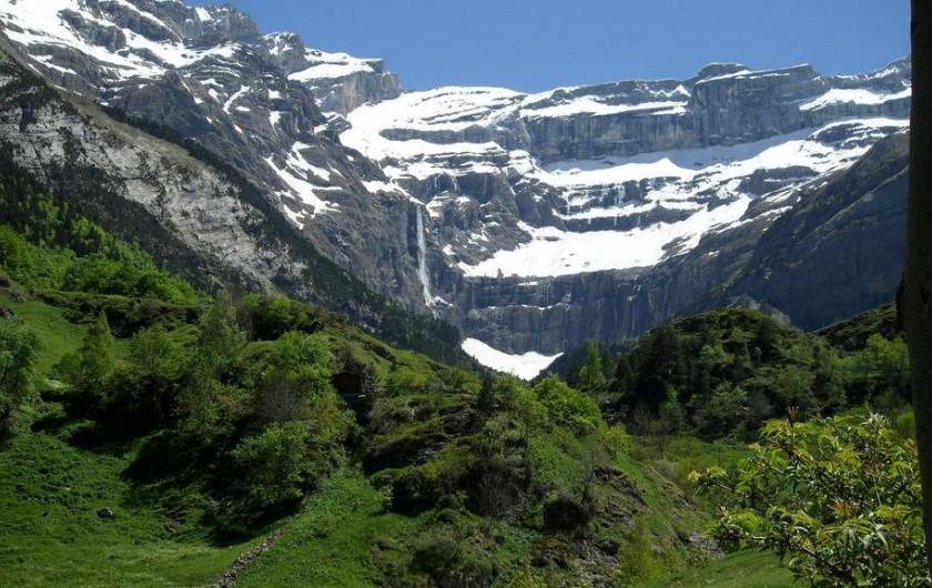 Location de vacances - Gîte à Luz-Saint-Sauveur - La montagne l'été