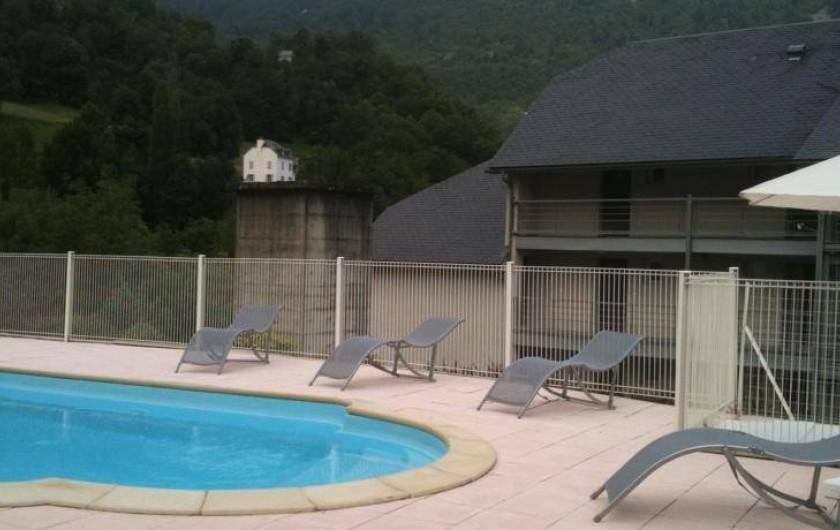 Location de vacances - Gîte à Luz-Saint-Sauveur - Piscine de la résidence