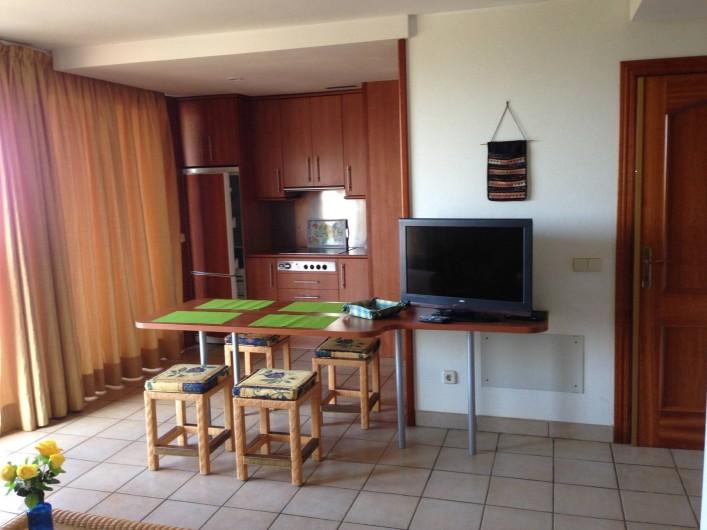 Location de vacances - Appartement à Morro Jable - Salon-cuisine