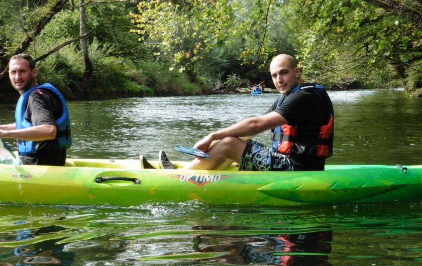 Location de vacances - Chalet à Scey-Maisières - canoe sur la loue a ornans