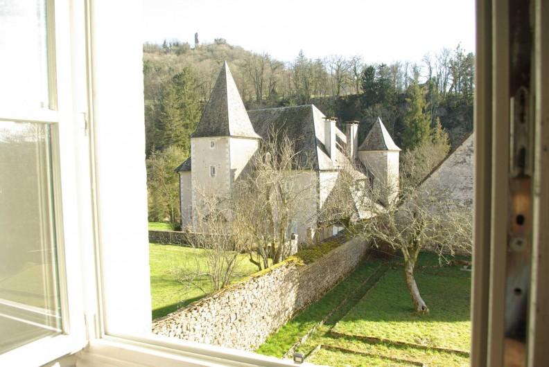 Location de vacances - Chalet à Scey-Maisières - vue depuis toutes les pieces