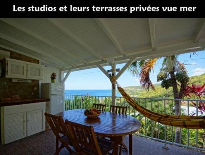 Location de vacances - Studio à Bouillante - Studios