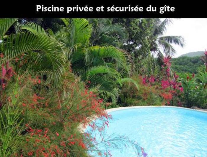 Location de vacances - Studio à Bouillante